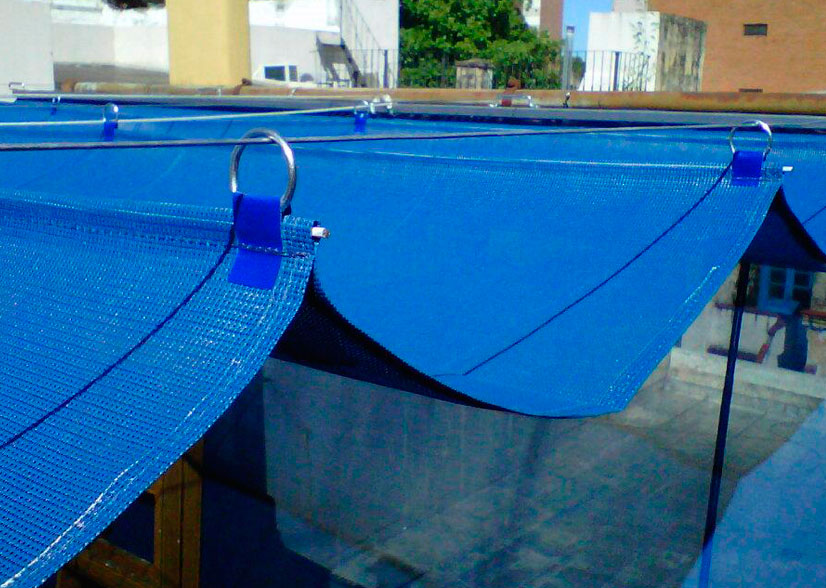 materiales para toldos free lona acrilicia metratoldo